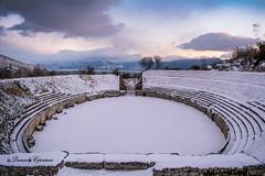 Amphitheater (danielecipriani) Tags: amphitheater abruzzo storia anfiteatro guerrieri borgo paesaggio nikon d5200 remains romani
