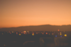 A bordo (Valo Alvarez) Tags: bokeh mxico blurry sunshine sky sunset lights canon cielo
