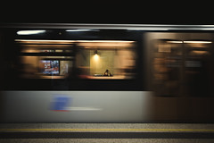 Girl in the subway (Eero Capita) Tags: subway metro stib mivb fenêtre window frame nikon d7100 dx 1020 sigma bruxelles brussels brussel schuman
