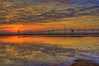 Chesapeake Bay Bridge reflection sunrise (cmfgu) Tags: chesapeakebaybridge baybridge chesapeakebay governorwilliamlanejrmemorialbridge sandypointstatepark sandypointbridge westernshore easternshore annearundelcounty queenannescounty stevensville kentisland maryland md annapolis usa unitedstatesofamerica usroute50 usroute301 sunrise colorful sky clouds reflection