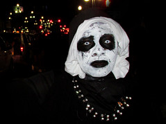 Horror Nun: Halloween in New Orleans (shaire productions) Tags: halloween party celebration street urban image picture photo photograph photography people candid costume dressup outfit imagery nola neworleans streetphotography portrait horror goth gothic zombie undead nun voodoo dark macabre mysterious disturbing creature