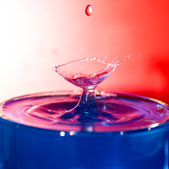 Red, White & Blue - Drop 3 (conanlloyd) Tags: 6d dropart mjkzz splash waterdroplet