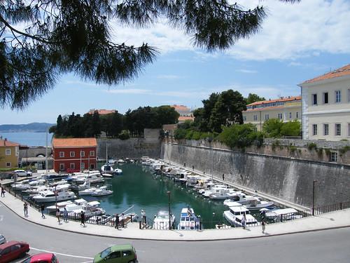 Zára, Csónakkikötő