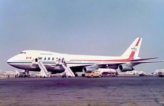 C-FDJC Boeing 747-1D1 cn 20208 ln 123 Wardair Canada Los Angeles 26Oct78