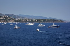 The sea in Monte Carlo (Yuri Rapoport) Tags: 2012 montecarlo monaco themediterraneansea