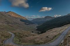 Argyll Forest Park, Scotland (paul.humphrey82) Tags: scotland rest and be thankful forest argyll mountain road house restandbethankful west westscotland mountainroad scotlandlandscape ruggedlandscape uk argyllforestpark westhighlands heather sunsetting sunset landscape argyllandbute