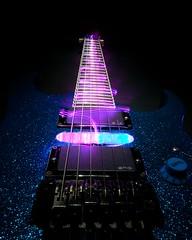 Ibanez (lukhellas) Tags: chitarra guitar blue blu electric elettrica led scie viola ibanez