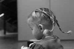 Pippi Longstocking 47/365 (Mojca Androjna) Tags: monochrome braids girl 365the2017edition 3652017 day47365 16feb17