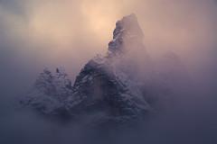 God's finger (Aurélien BERNARD) Tags: dolomite god finger mountain cloud sunset