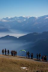 Take off (oliver.schmitter) Tags: eos canon rigi kulm paragliding take off berge schweiz switzerland mountains