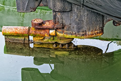 Rusty Rudder Reflection