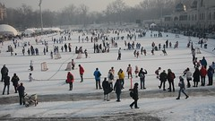 Winter sport for kids , Budapest City park (misi212) Tags: budapest city park ice rink