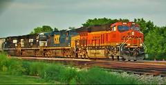 BNSF 3900 (Midwest_Matt9720) Tags: bnsf ge ns csx power kansas grain 3900 et44c4 gevo dash 9 es44