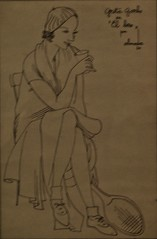 Greta Garbo in the Kiss (1930) - José de Almada Negreiros (1893-1970) (pedrosimoes7) Tags: josédealmadanegreiros caloustegulbenkianmuseum moderncollection lisbon portugal gretagarbo gretagarbointhekiss gretagarboonelbeso kiss beijo beso creativecommons cc artgalleryandmuseums ✩ecoledesbeauxarts✩