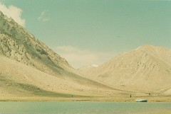 (rqlevy) Tags: nikon nikkormat ftn 35mm mydadscamera adoxcolorimplosion film analog ladakh india summer travel glaciallake raft nature mountains landscape explore adventure water