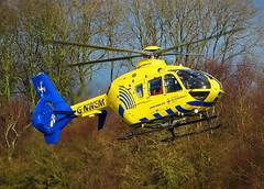 G-NWEM Eurocopter EC-135 of the North West Air Ambulance (SteveDHall) Tags: gnwem aircraft airport aviation airfield aerodrome northwestairambulance nwaa airambulance emergency helicopter eurocopter ec135 eurocopterec135 manchesterbarton barton bartonaerodrome cityairportmanchester 2017