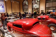 Rolling Bones Garage Night 2_17-050 (Michael Corazzelli) Tags: 2017 2017garagenightparty boner chopped coupe flathead ford gow greenfieldcenter hotrod keithcornell kenschmidt louvers mattschmidt michaelcorazzelli ny newyork quickchange saltflatsracing saratogaautomuseum thebookofgow traditional yblock wwwcorazzelliphotography wwwrollingboneshotrodshop