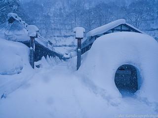 乳頭温泉 冬の鶴の湯温泉