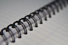 Round and round we go (my_LittleDuck) Tags: 52in2017 week9 paper binding wirebound spiral notebook