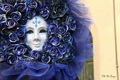 La Notte (valerologan) Tags: carnevale maschere maschera notte blu blunotte castiglionfibocchi bocco figlidibocco rose roseblu toscana