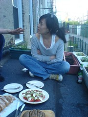 Dinner at Dieters place (Timo Kuhn) Tags: dinner outdoor dieter aki