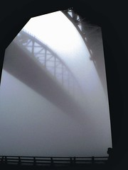 In awe of the fog (4BlueEyes Pete Williamson) Tags: bridge ontario canada silhouette fog wow lumix topf50 great topv999 topv444 appreciation panasonic 500v50f sarnia abc topv777 fz5 topf100 topv666 mappr topv888 continuum stclairriver bluewaterbridge porthuron topf60 straightflush topv500 4blueeyes topf80 topf70 petewilliamson 100f1000v topf110 topf90 interestingness390 i500 200viewspool abigfave gostworld fiveflickrfavs world100f