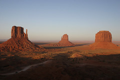 The Mittens at Sunset (Anvilcloud) Tags: arizona monumentvalley