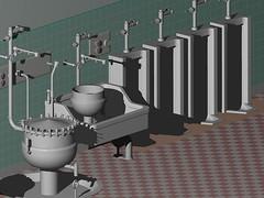 urinal (jasonwoodhead23) Tags: bowl urinal acad dwg