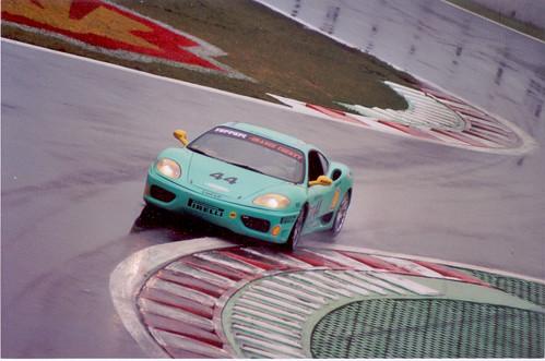 Ferrari 360 Modena Yellow. A Turquoise Ferrari 360 Modena