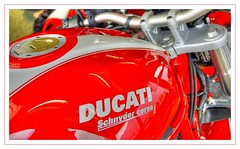 Ducati gas tank (Toni_V) Tags: red monster topv111 d50 motorcycle ducati hdr s2r photomatix tthdr hdrsingleraw toniv toniv