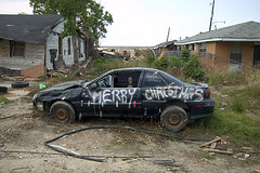 DSC_6838.jpg (dogseat) Tags: christmas car katrina crazy gulf destruction neworleans hurricane rita hurricanekatrina 9thward nola merrychristmas ninthward postkatrina lower9thward lowerninthward gulfregion nolawords