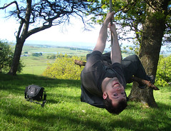 Tree swing (Looby lou) Tags: summer tree sunshine tag3 taggedout scotland tag2 tag1 swing ayrshire