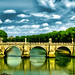 Along the river (Tevere, Rome)
