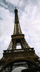 Eiffel tower shot