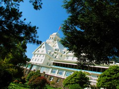 that old berkeley hills hotel (pbo31) Tags: california blue white color green northerncalifornia architecture canon palms hotel oakland berkeley historic resort eastbay claremont tilt spa berkeleyhills alamedacounty healthclub clairmonthotel