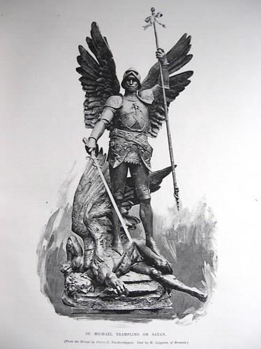 Gems of Art,  St Michael Trampling on Satan