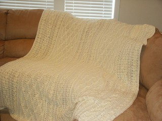 Ravelry Aran Fisherman Afghan Pattern By Vanna White