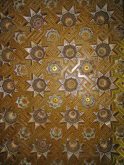 More Ceilings (icelight) Tags: africa art design islam morocco springbreak moorish casablanca inlay