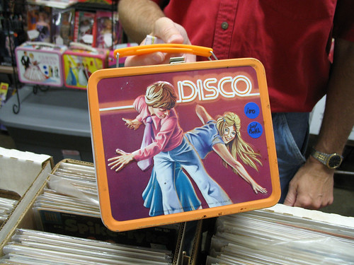 Awesome disco lunchbox. Yours for only $100!