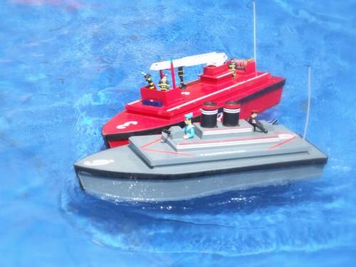 water radio boats model ship control engine miniture