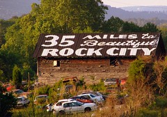 35 Miles to Rock City (SeeMidTN.com (aka Brent)) Tags: barn alabama junkyard rockcity seerockcity dekalbcounty us11 brentandmarilynnpersonalfavorite bmok