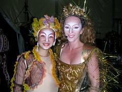Zhu Sha & Agnes (Pat Rioux) Tags: people circus staff artists acrobats cirque cirquedusoleil dralion aroundtheworld europeantour