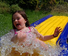 Slide Beth slide (Steve T (afka A knight who says Ni)) Tags: playing water fun play bethany waterslide funinthesun akwsn