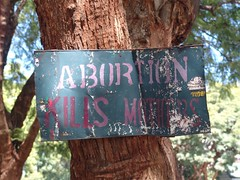 Abortion kills mothers