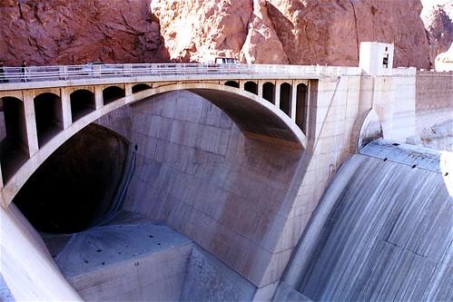 AZ Hoover Dam spillway tunnel - Tunnels -