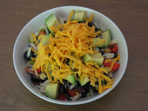 Black Bean & Orzo Salad