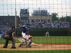 Derrek Lee back in Blue (mikepix) Tags: chicago brewers baseball cubs wrigleyfield wrigley derreklee