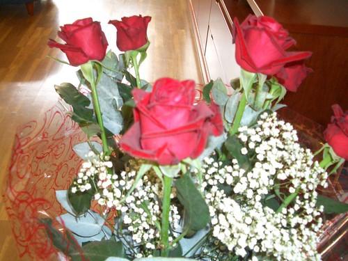 Ram de roses que em va regalar un amic quan vaig fer 41 anys