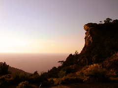 Ikaria 257 (isl_gr (Mnesterophonia)) Tags: sunset rock hiking beautyconcealed ikaria icaria  aegean trails july greece blogged gorge theisland  hikingikaria   litani chalares  rahes