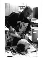 The Cook (thomas_mey) Tags: cook noel ham jambon cuisinier decoupe